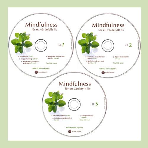 Mindfulnessövningar cd-skivor